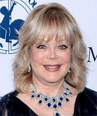 Candy Spelling Hairstyle - Formal Medium Wavy