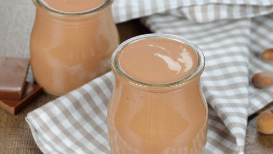 Medový čokoládový jogurt