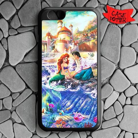 Disney Ariel And Eric iPhone 6 iPhone 6S Black Case