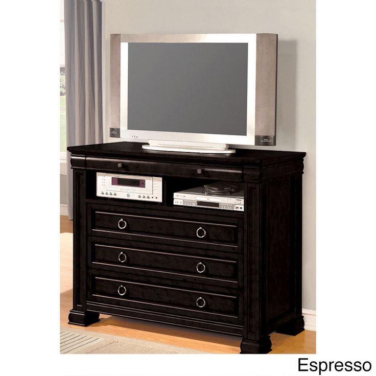 Black,Wood Nightstands: Complete your bedroom with nightstands and bedside tables that offer a convenient perch for a lamp, alarm clock and reading material. Free Shipping on orders over $45!