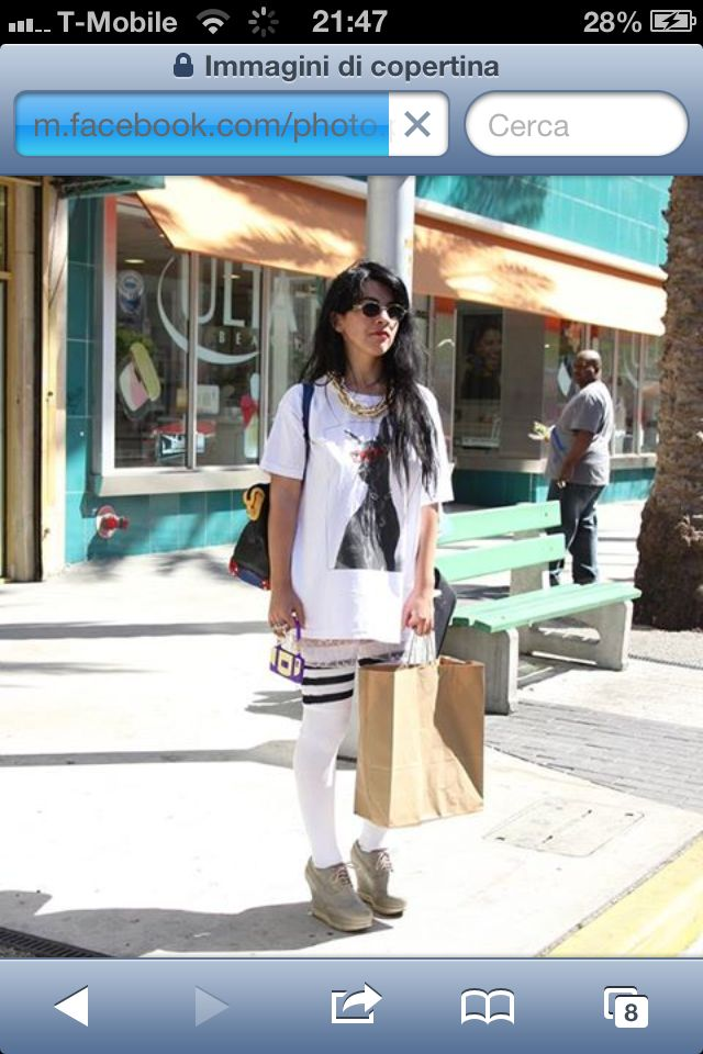 """My New Outfit in """"American Apparel"""" ... Miami ..."""