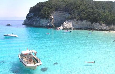 Blue lagoon, Sivota, Greece