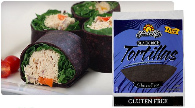 Low FODMAP/vegan/gluten-free Exotic Black Rice Tortillas | Food For Life
