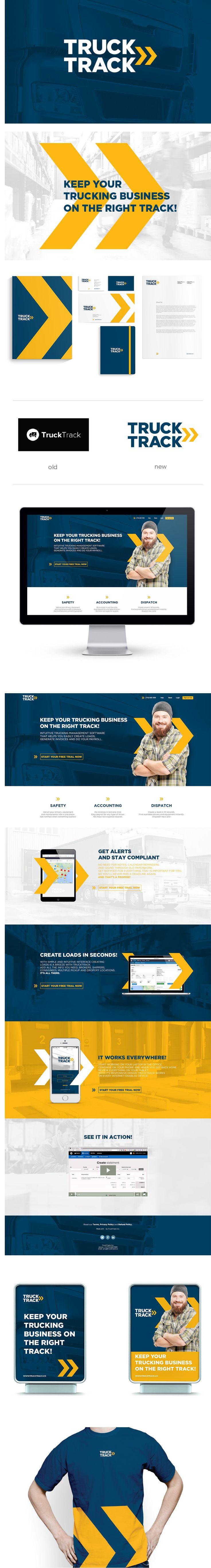 Truck Track rebranding on Behance                                                                                                                                                                                 More