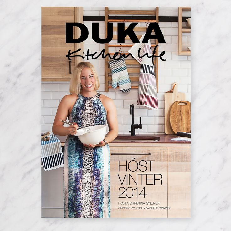 The cover of our Duka Kitchen Life catalogue / Autumn and Christmas 2014!