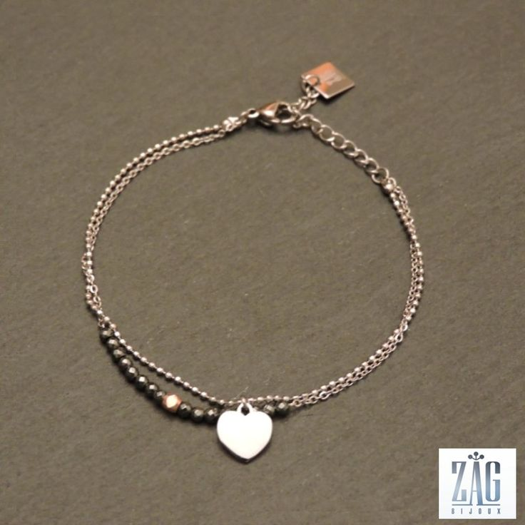 ZAG Bijoux Dazzling silver bracelet Sc3WE