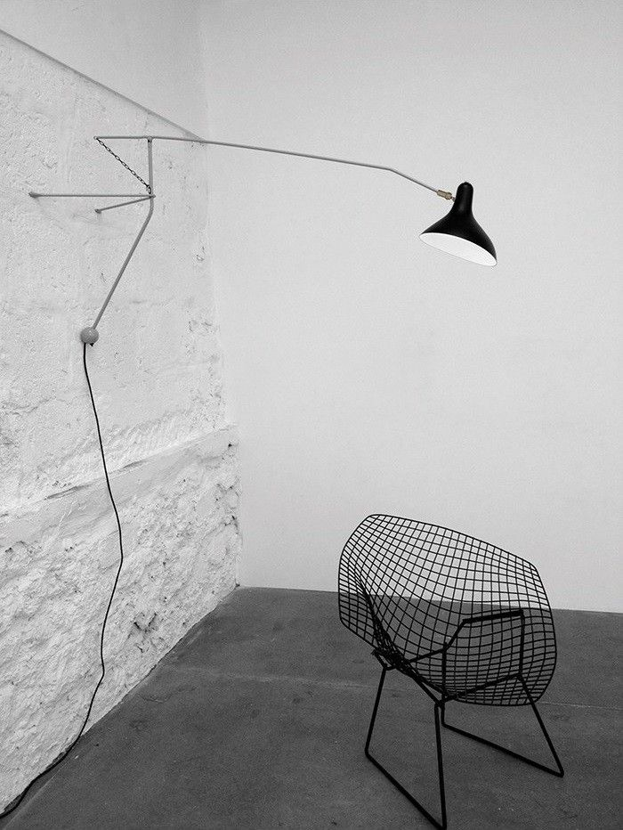 Mantis BS2 Wall Lamp by Bernard Schottlander.