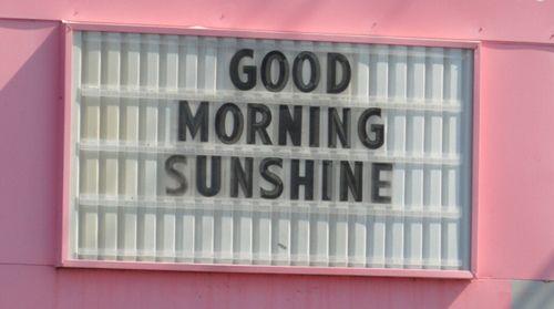 // goood morning!