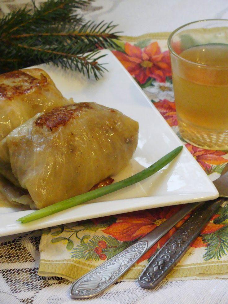 Izioni pyszne smaki: Gołąbki bez mięsa