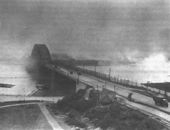 Waalbrug in oorlogstijd