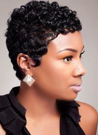 short hairstyles for black women - Google Search