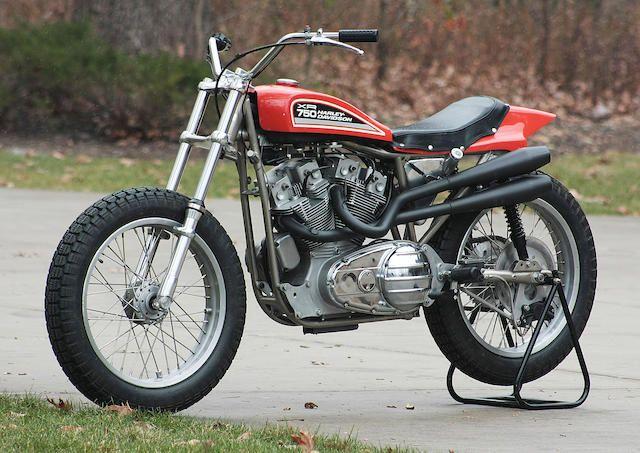 The Harley Davidson Xr 750: 1975 Harley-Davidson XR-750 Flat Tracker Engine No