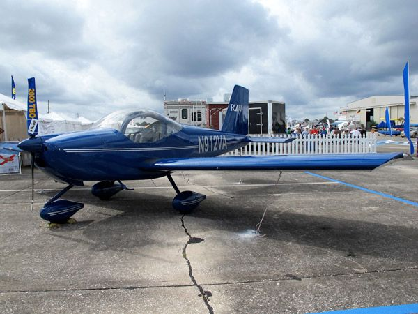 In 2008 vaunted kit-plane manufacturer Vans began selling its first light sport model, the RV-12. The kit starts at $65,000 and takes roughly 800 hours to assemble. It sits right at the limit of the light sport rules category, with a maximum sustained flight speed of 138 mph. The practical plane can carry two 210-pound people with its 20-gallon tank topped off.
