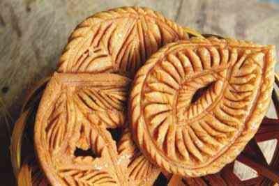 Moong Pakon Pitha - Bangladeshi treat made from moong dhal.