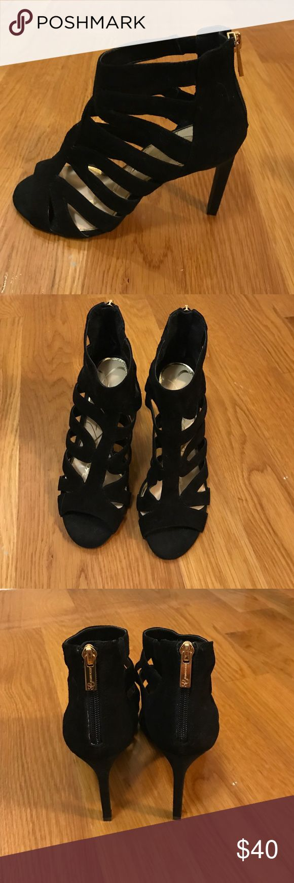 Jessica Simpson Careyy Sandals/Heels Only worn once. Very comfortable and true to size. Great for going out or to a formal event Jessica Simpson Shoes Heels