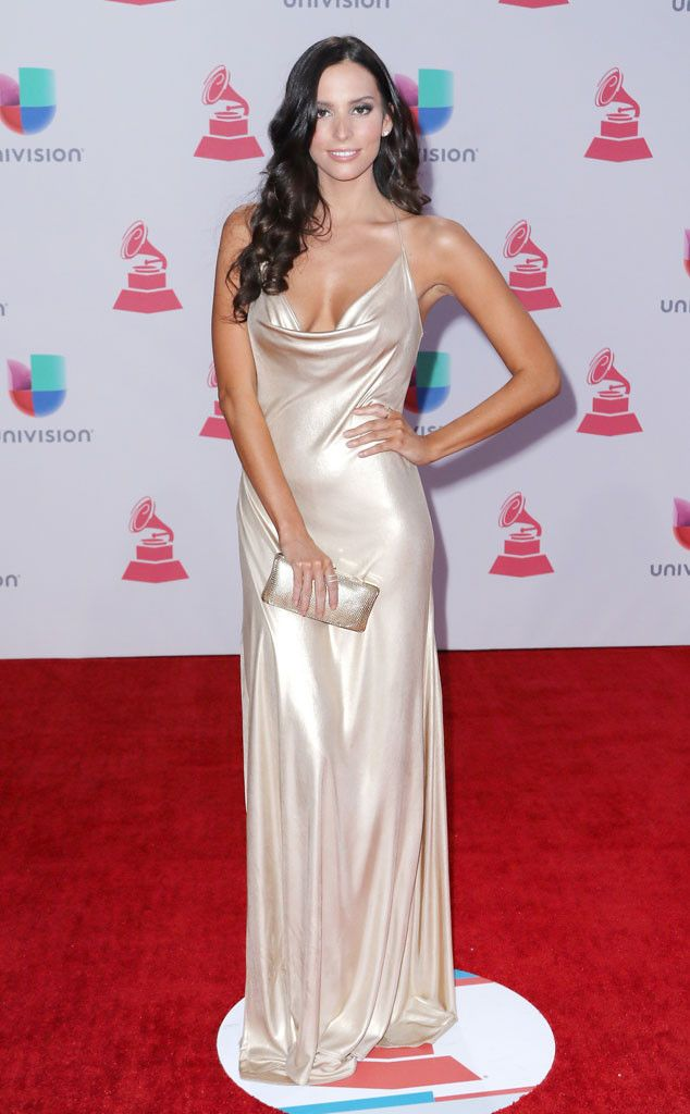 Genesis Rodriguez from 2015 Latin Grammy Awards Red Carpet Arrivals  She radiates old Hollywood glam.