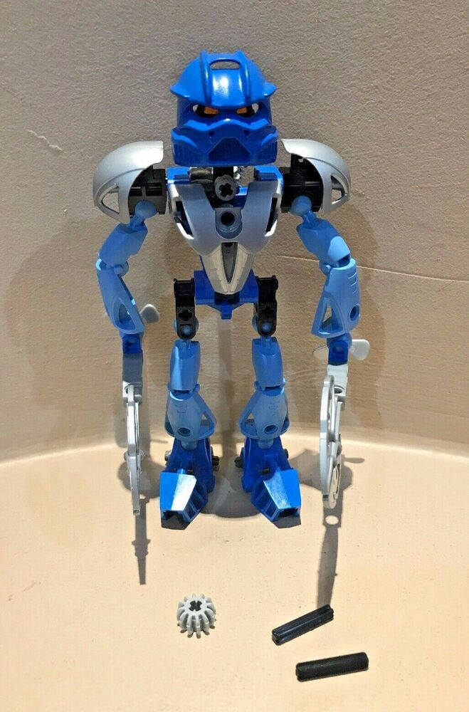 Lego 8570 Bionicle GALI NUVA Toa Nuva 100/% Complete Figure