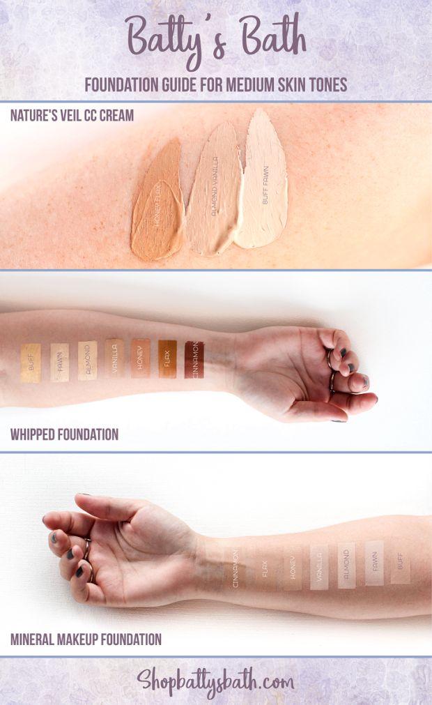 Foundation guide for medium skin tone | makeup for medium skin tones