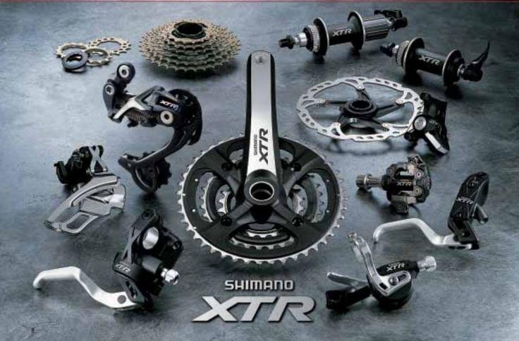 La historia del grupo Shimano XTR