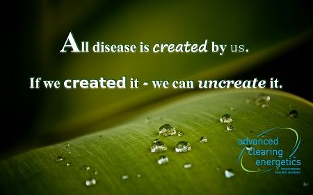Let us show you how with ACE - www.advancedclearingenergetics.com