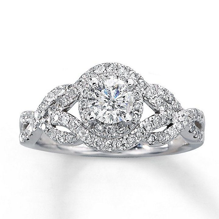 1 Carat Diamond Engagement Rings Under 1000
