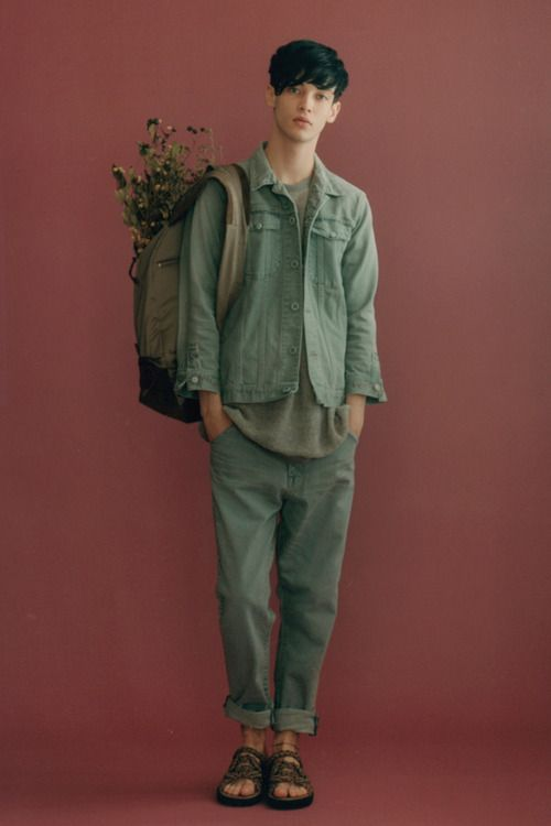 but with boots, Silvius (I like the plants in the modern backpack thing)