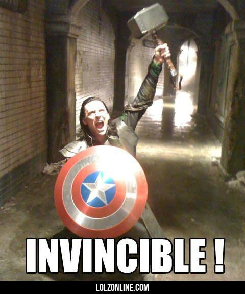 He is invincible now#funny #lol #lolzonline