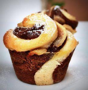 Brioffin Bicolore… Un pò Brioche e un pò Muffin