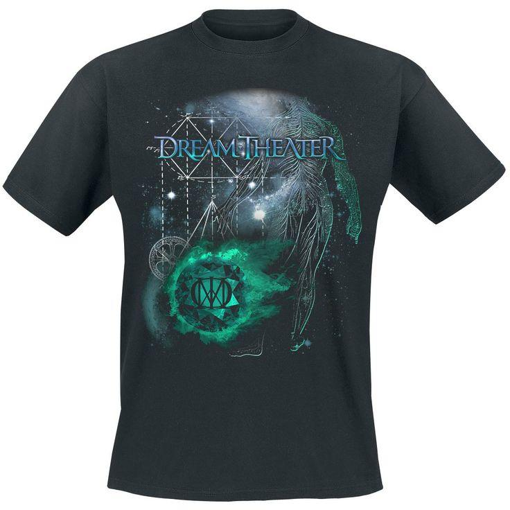 20,99e Space (T-paita) - Dream Theater. koko M