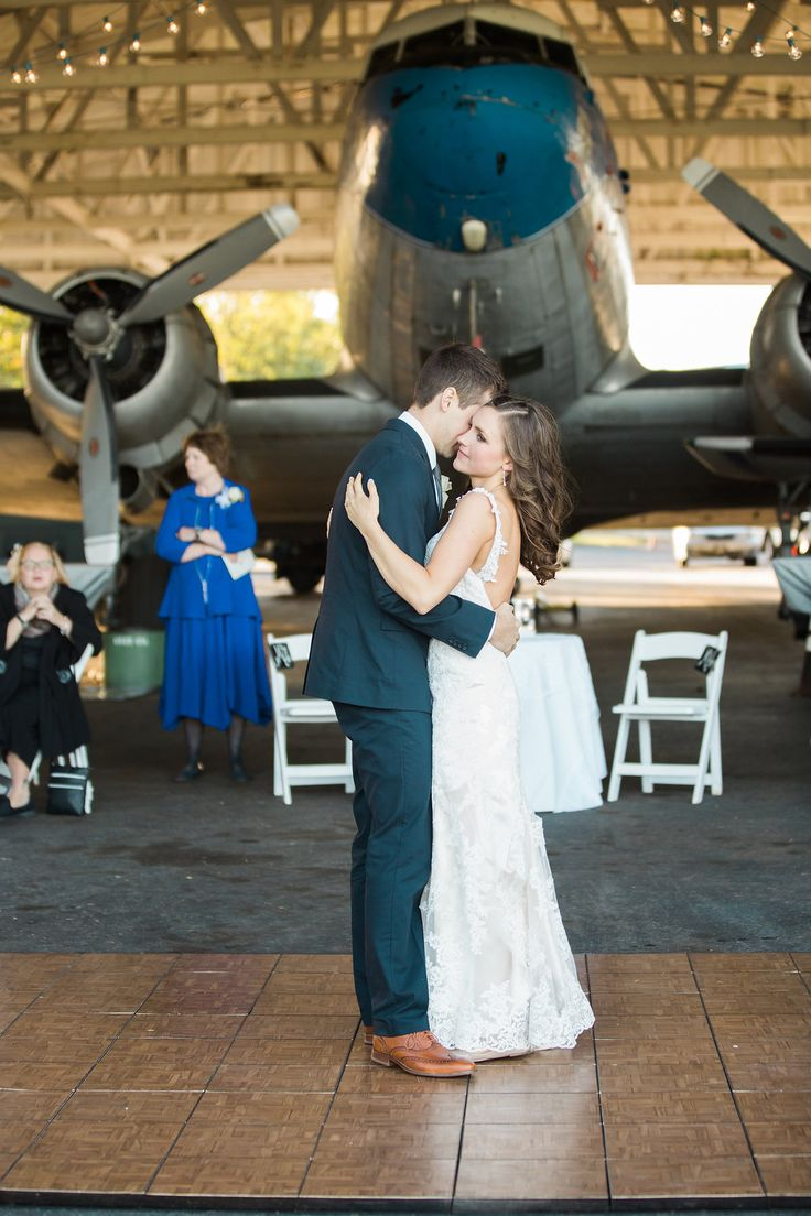 Avy & Hogan's Island Home Airport Wedding - The Southeastern Bride