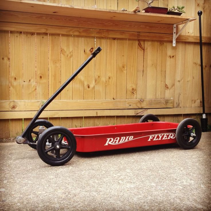 I ran across this low-rider Radio Flyer wagon build that I thought would make an interesting feature to mix it up a bit and keep the content eclectic. Plus, if you have kids it's never too ea…