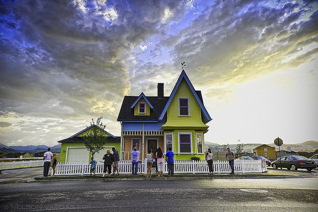 "Video Tour of the Inside of the Disney Pixar ""UP"" House in Utah 
