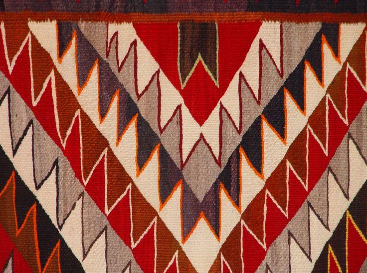 1920s Navajo Rug Red Mesa