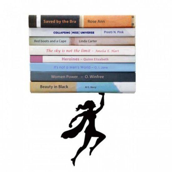 Boekenrek Artori Design - Wondershelf - Onzichtbare Boekenplank 16 x 13cm
