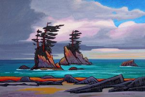 "SOLD ""West Coast Trail Area,"" by Nicholas Bott 24 …"