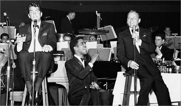 i'm headed to vegas this weekend for work. i have a hard time going to vegas without thinking about sinatra, martin, and davis. i don't know too much about joey bishop or peter lawfor…