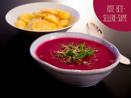 Rote-Beete-Sellerie-Suppe