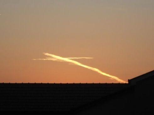 Cross light appeared in Medjugorje August 15 2012, feast of Assumption!