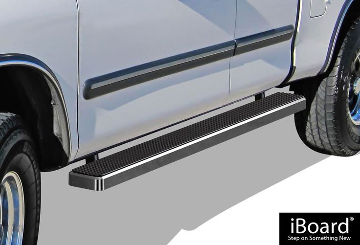 "iBoard Running Boards 6"" Custom Fit 2000-2006 Toyota Tundra Access Cab Pickup 4-Door (Nerf Bars 