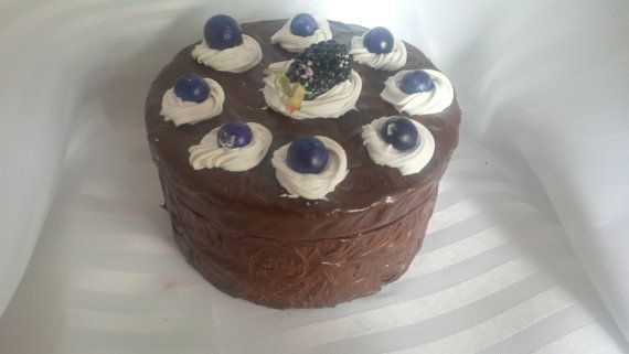 MEDIUM Faux Blackberry and Blueberry Topped by ReadyMadeGifts, $29.99. Would make a beautiful gift!