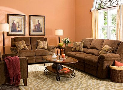 17 Best Images About Brown Peach No Way On Pinterest Sectional Sofas Dark Brown And