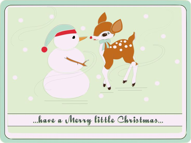 Inkscape Baby Blue Christmas ~ free SVG