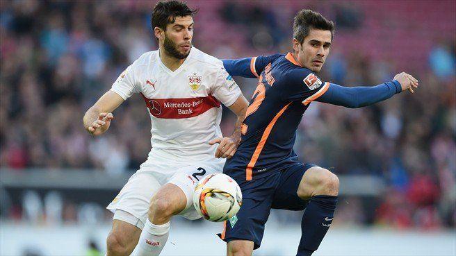 VfB Stuttgart 1 – 1 Werder Bremen -  http://www.football5star.com/highlight/vfb-stuttgart-1-1-werder-bremen/