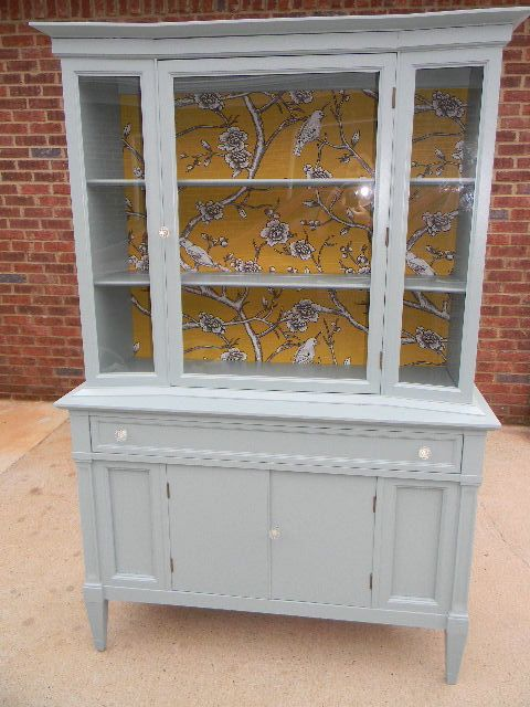 Best 25 Refinished china cabinet ideas only on Pinterest China