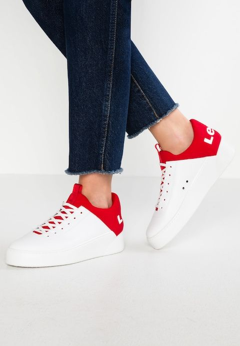 sports shoes 6a042 c5ce2 Levi s® MULLET - Sneakers basse - regular red - Zalando.it