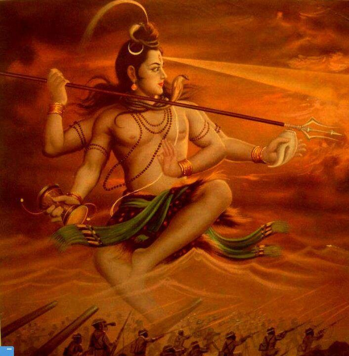 Rudra (Devanagari: रुद्र): Rigvedic & Hindu deity of the wind/storm & the hunt; incarnation of Shiva.