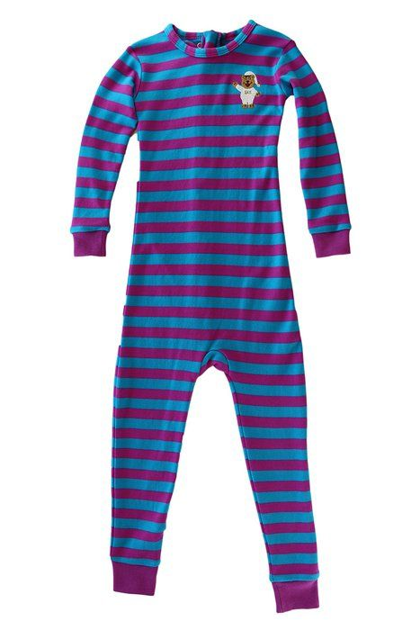 Little Keeper Sleeper Boys' (Size 18-24mo-14) Long Sleeve Zippered Back Inescapable Pajamas (4T, Fuchsia/Turquoise)