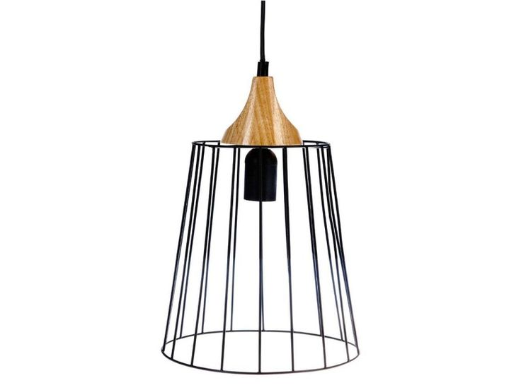 Suspension metal noire - Vente de ATMOSPHERA - Conforama