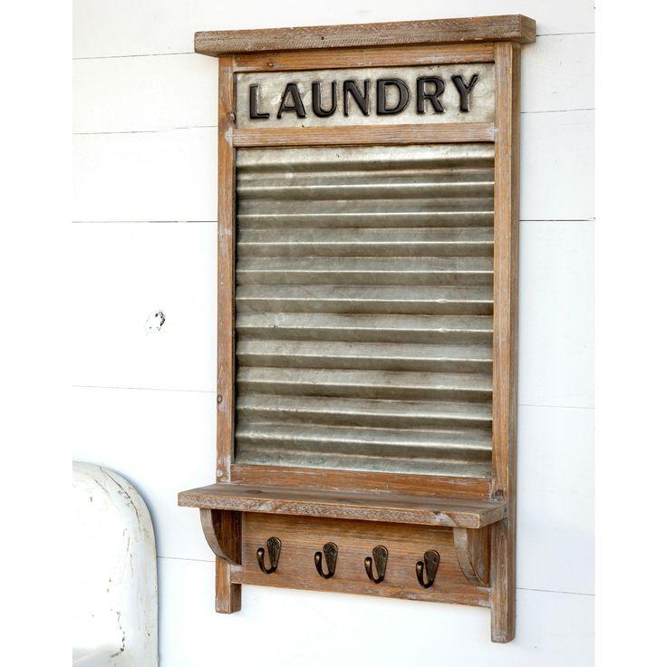 Wash Board Shelf