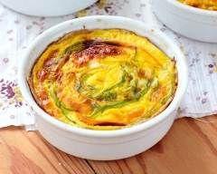 Clafoutis aux carottes, orange, fromage frais et cumin : http://www.cuisineaz.com/recettes/clafoutis-aux-carottes-orange-fromage-frais-et-cumin-70832.aspx